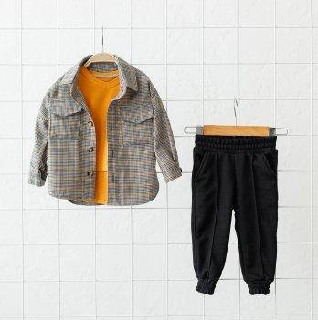 Детский костюм для мальчика Magbaby Triple Горчичный 1-5 лет
