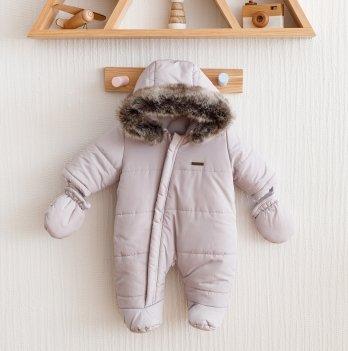 Зимний комбинезон детский Magbaby Аляска Серый