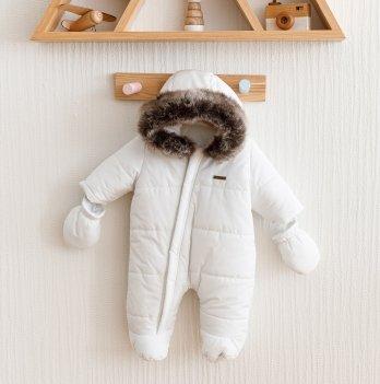 Зимний комбинезон детский Magbaby Аляска Белый