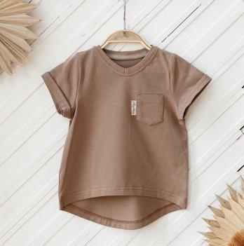 Детская футболка Magbaby Simply 0-5 лет Капучино