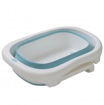 Ванночка Babyhood Премиум, складная, сидячая, бирюзовая