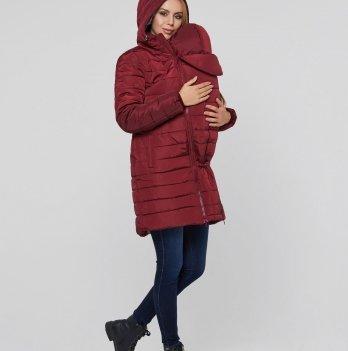 Слингокуртка зимняя 3 в 1 для беременных и кормящих мам Dresden Lullababe, бордо