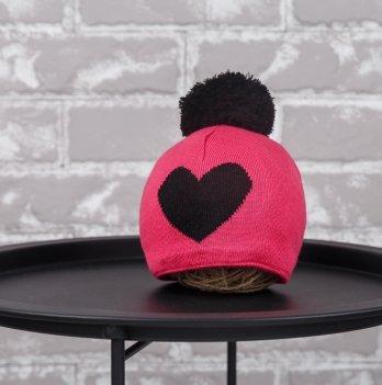 Шапка Heart Magbaby Малиновый Черный 1-2 года
