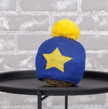 Шапка Star Magbaby Синий Желтый 1-2 года