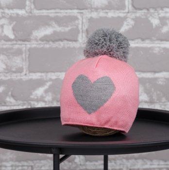 Шапка Heart Magbaby Розовый Серый 1-2 года