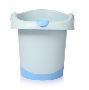 Детская сидячая ванночка Babyhood, Банни, голубая
