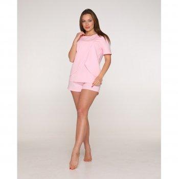 Пижама для беременных и кормящих мам Lullababe Paleromo Розовый LB11PL124