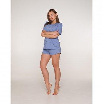 Пижама для беременных и кормящих мам Lullababe Paleromo Деним LB11PL148