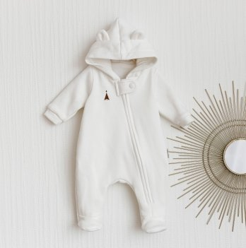 Комбинезон детский демисезонный Magbaby Nory Молочный