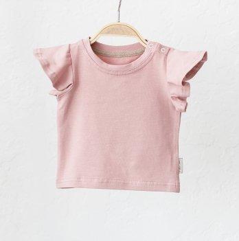 Детская футболка для девочки Magbaby Berry Пудровый 0-3 года