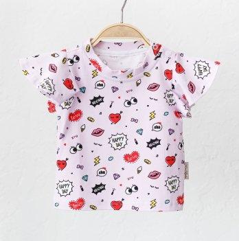 Детская футболка для девочки Magbaby Berry Розовый 0-3 года