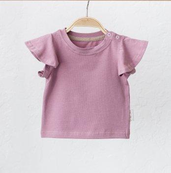 Детская футболка для девочки Magbaby Berry Темно-розовый 0-3 года