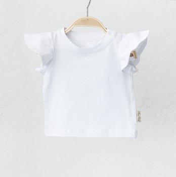 Детская футболка для девочки Magbaby Berry Белый 0-3 года