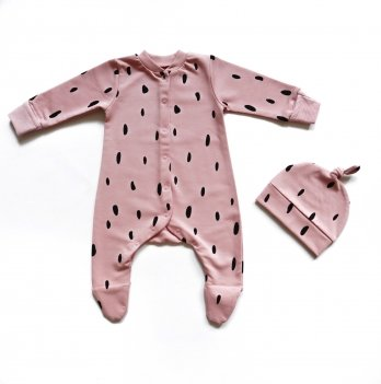 Комплект Ripka Капли на розовом