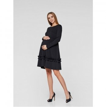 Платье для беременных и кормящих мам Lullababe Paris Черный