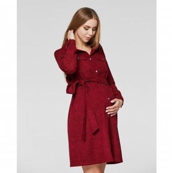 Платье для беременных и кормящих мам Lullababe Philadelphia Бордовый