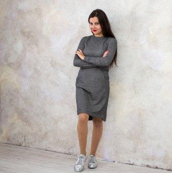 Платье для беременных и кормящих Lullababe Лонг темный меланж