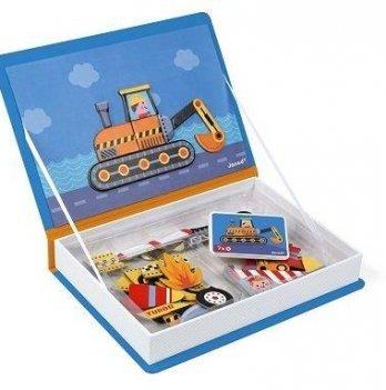 Магнитная книга Janod Транспорт J02715