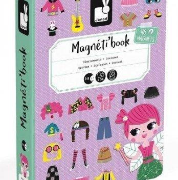 Магнитная книга Janod Наряды для девочки J02718
