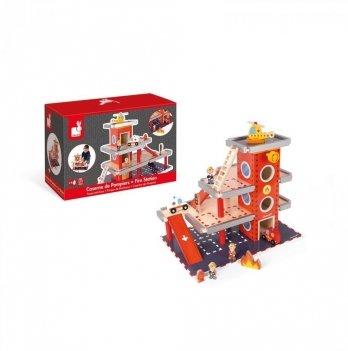 Игровой набор Janod Пожарная станция J05717