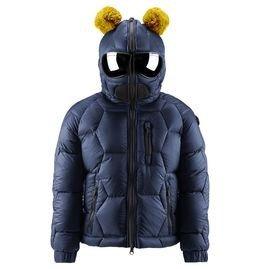 Куртка зимняя с очками Ai-riders, темно-синяя