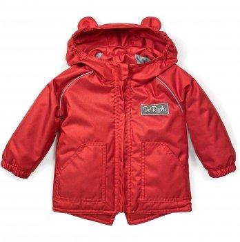 Куртка демисезонная детская ДоРечі 1-3 года Красный 1924