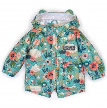 Демисезонная куртка на девочку ДоРечі 1-3 года Сказочные цветы 1920