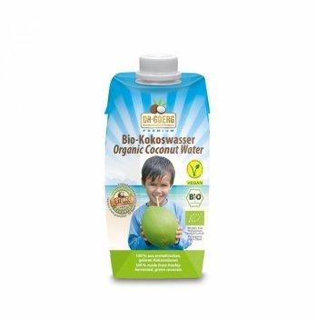 Органическая премиальная кокосовая вода,330л