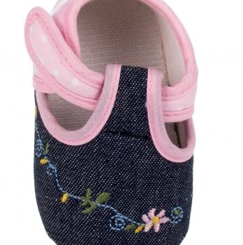 Домашняя обувь DANAYA сине-розовая K09-B0003