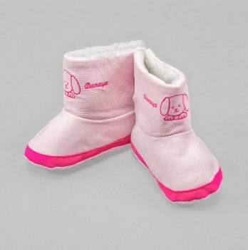 Домашние сапожки DANAYA розовые K09-B0007
