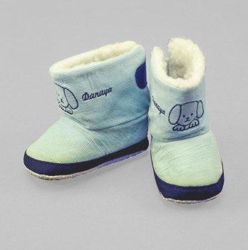 Домашние сапожки DANAYA голубые K09-B0013