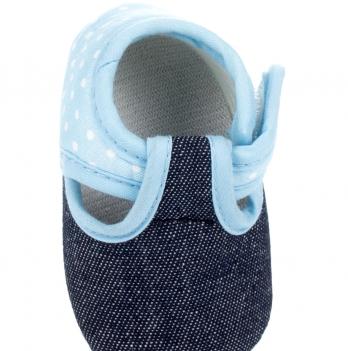 Домашняя обувь DANAYA сине-голубая K09-B0016