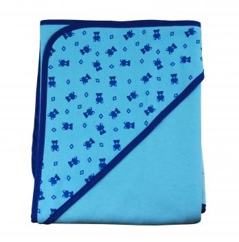 Полотенце DANAYA K13-A0100 голубое