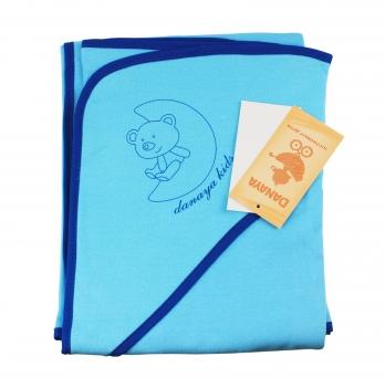 Полотенце DANAYA K13-A0101 голубое