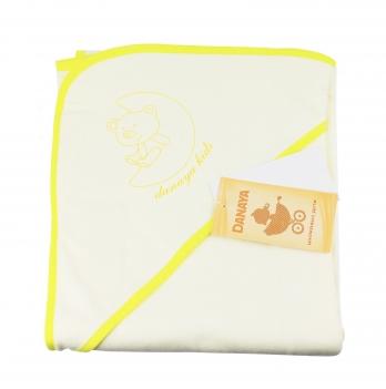 Полотенце DANAYA K13-A0101 желтое