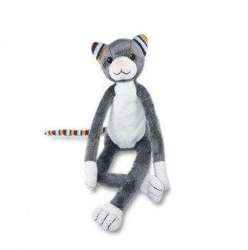 Музыкальная мягкая игрушка Zazu, котик KЕТИ с ночником