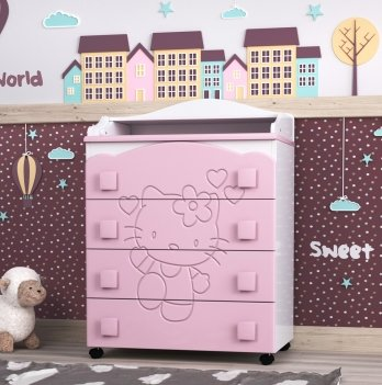 Комод в детскую комнату СидиМ Китти Dresser Kitty