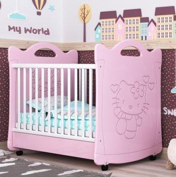 Детская кроватка СидиМ Китти Baby Cot Kitty