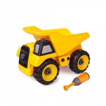 Разборная модель самосвала Kaile Toys KL702-9 с отверткой