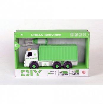 Разборная модель контейнеровоза Kaile Toys KL902-3 с отверткой