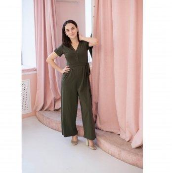 Комбинезон для беременных и кормящих MBerry dress Хаки