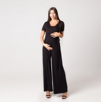 Комбинезон для беременных и кормящих MBerry dress Черный