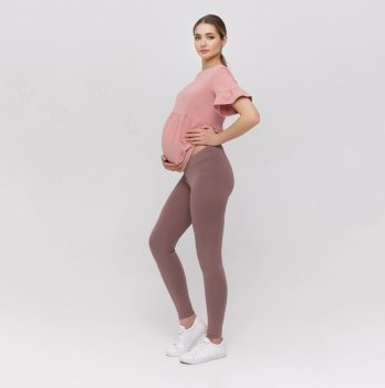 Лосины для беременных Юла Мама Kaily new Капучино SP-21.021