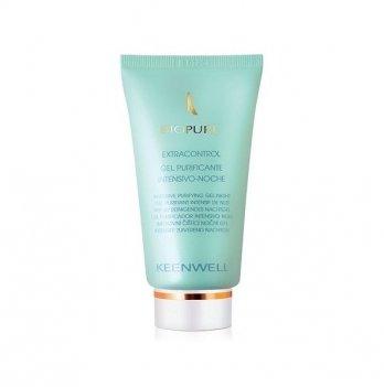 Ночной гель для жирной кожи Keenwell Biopure, с эффектом глубокого очищения