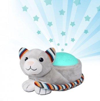 Музыкальная мягкая игрушка Zazu, котик КИКИ с ночником
