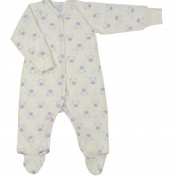 Комбинезон Baby Bear lilac Veres футер