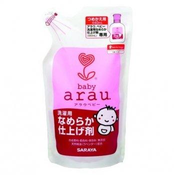 Кондиционер для стирки детской одежды 400 мл, Arau Baby, сменный блок