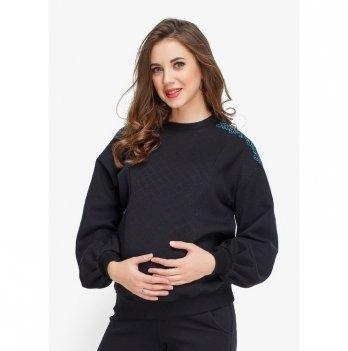 Свитшот теплый для беременных и кормящих Creative Mama, Nomi