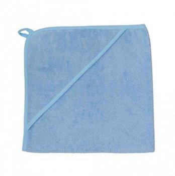 Полотенце махра уголок Interkids 1856 голубой 80х80 см