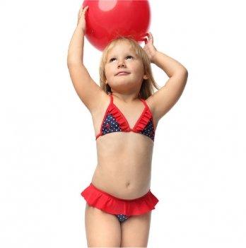 Купальник раздельный Keyzi Ladybug Bikini синий/красный